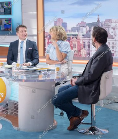 Editorial photo of 'Good Morning Britain' TV show, London, UK - 06 Mar 2020