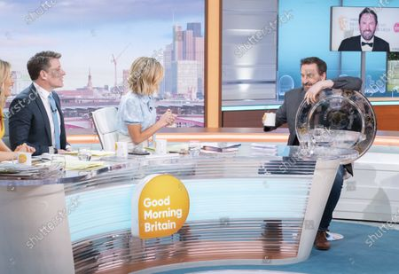 Editorial picture of 'Good Morning Britain' TV show, London, UK - 06 Mar 2020