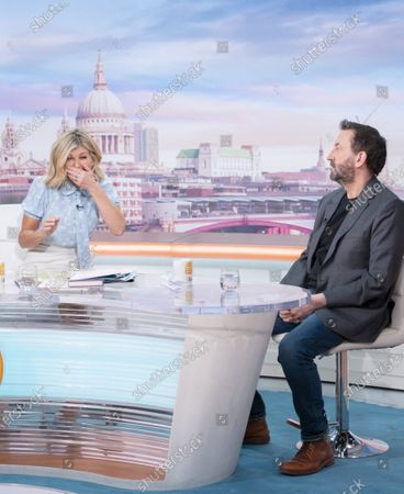 Kate Garraway with Lee Mack