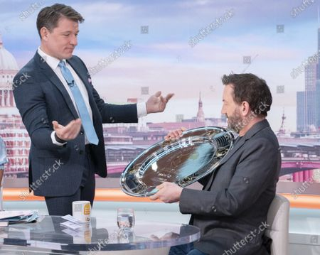 Ben Shephard with Lee Mack