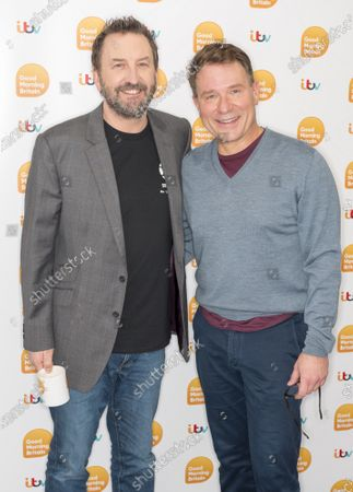 Lee Mack and Richard Arnold
