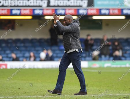 Sol Campbell, Manager of Southend United at the end of the match
