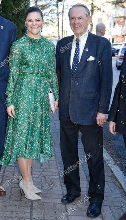 Crown Princess Victoria and Jan Eliasson, chairman