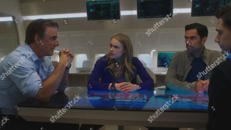 Chris Noth as Frank Booth, Leven Rambin as Kick Lannigan and Danny Pino as Bishop