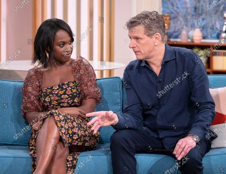 Michelle Gayle and Andrew Castle