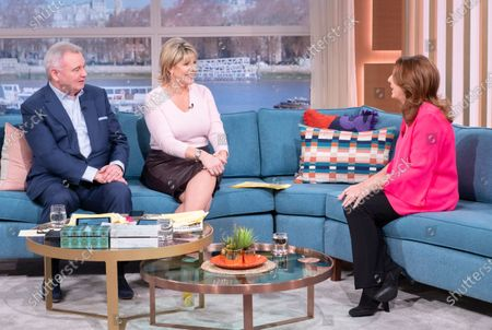 Eamonn Holmes and Ruth Langsford with Jane McDonald
