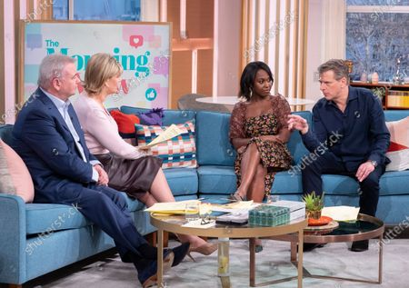 Eamonn Holmes, Ruth Langsford, Michelle Gayle and Andrew Castle