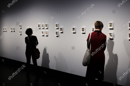 Polaroids by Linda McCartney are on display as part of the exhibition 'Linda McCartney-The Polaroid Diaries' at the C/O gallery in Berlin, Germany, 06 March 2020. The exhibition containes around 250 polaroids made by Linda McCartney, some date back as far as the early 70's, they provide an intimate look in to her life and inviornment, including visuals depicting The Beatles member and her Husband at the time Paul McCarthney. The exhibition will be on display 07 March to 06 June 2020 at the C/O gallery in Berlin.