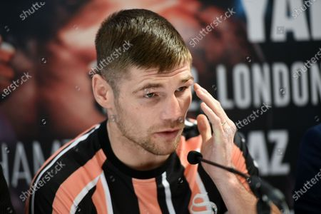 Chris Jenkins during a Press Conference at Fredericks Restaurant on 6th March 2020