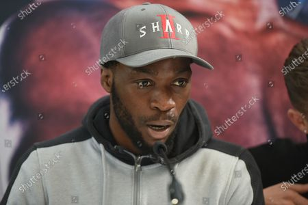 Denzel Bentley during a Press Conference at Fredericks Restaurant on 6th March 2020