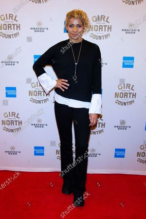 Editorial picture of 'Girl from the North Country' Broadway play opening night, Arrivals, Belasco Theatre, New York, USA - 05 Mar 2020