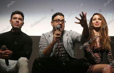 Kristos Andrews, Gregori J. Martin and Celeste Fianna