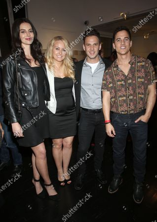 Stock Photo of Janine Gateland, Mike C Manning and guests