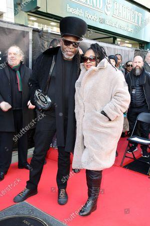 Stock Image of Jazzie B and Caron Wheeler