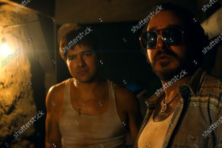 Alejandro Edda as Joaquín 'El Chapo' Guzman and Andres Almeida as Cochiloco