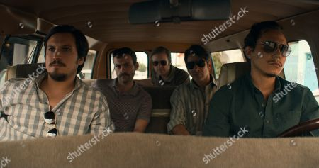 Alberto Zeni as Amat Palacios, Alex Patrick Knight as Kenny, Matt Biedel as Daryl Petsky, Miguel Rodarte as Danilo Garza and Jero Medina as Ossie Mejía