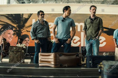 Miguel Rodarte as Danilo Garza, Jero Medina as Ossie Mejía and Scoot McNairy as Walt Breslin