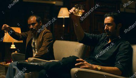 Stock Picture of Fermín Martínez as El Azul and Jose Maria Yazpik as Amado Carrillo Fuentes