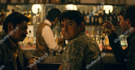 Julio Cesar Cedillo as Guillermo Gonzalez Calderoni, Alejandro Edda as Joaquín 'El Chapo' Guzman and Gorka Lasaosa as Hector Palma