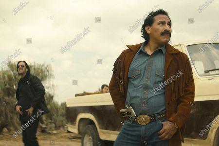 Jose Maria Yazpik as Amado Carrillo Fuentes and Gerardo Taracena as Pablo Acosta