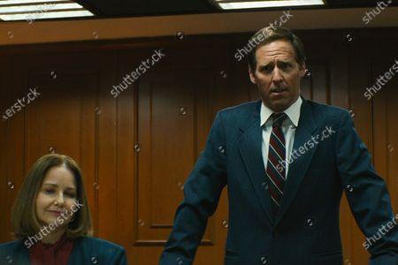 Molly Hagan as Stella Mancuso and Nat Faxon as Ted Kaye