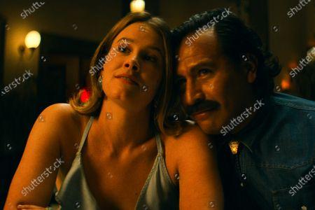 Stock Picture of Sosie Bacon as Mimi Webb Miller and Gerardo Taracena as Pablo Acosta