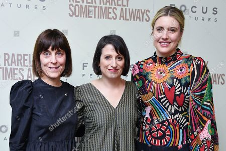 Stock Image of Caren Spruch, Eliza Hittman, and Greta Gerwig