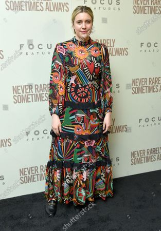 Editorial picture of 'Never Rarely Sometimes Always' film premiere, Arrivals, New York, USA - 09 Mar 2020
