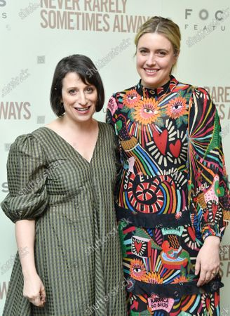 Stock Photo of Eliza Hittman and Greta Gerwig