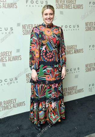 Editorial image of 'Never Rarely Sometimes Always' film premiere, Arrivals, New York, USA - 09 Mar 2020