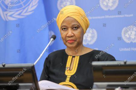 Stock Image of Phumzile Mlambo-Ngcuka, Executive Director, UN Women