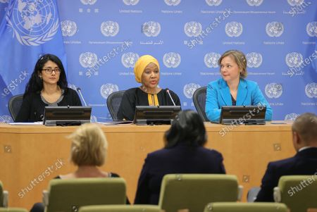Editorial image of UN 'Women's Rights in Review' report launch, New York, USA - 05 Mar 2020