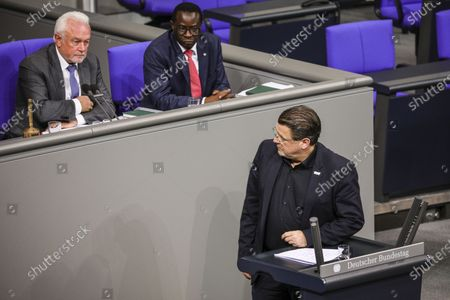Editorial photo of Bundestag session - German 'The Left' party under criticism for recent remarks, Berlin, Germany - 06 Mar 2020