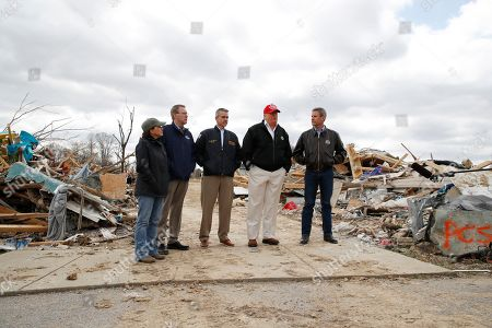 Editorial image of Trump Severe Weather Tennessee, Cookeville, USA - 06 Mar 2020