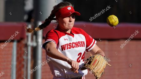 Editorial image of Wisconsin Softball, Tempe, USA - 01 Mar 2020