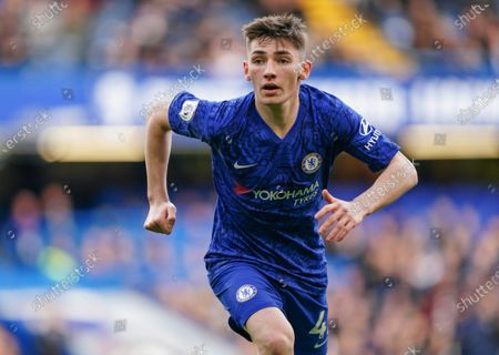 Stock Image of Billy Gilmour of Chelsea  Dave Shopland /Shutterstock