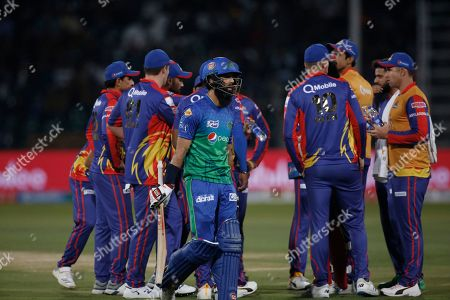 Editorial image of Cricket Super League, Lahore, Pakistan - 06 Mar 2020