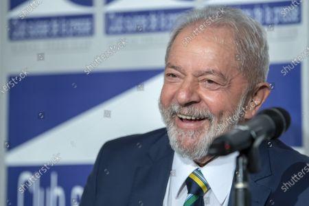 Editorial photo of Former Brazilian president Luis Inacio Lula da Silva in Geneva, Switzerland - 06 Mar 2020