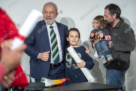 Editorial image of Former Brazilian president Luis Inacio Lula da Silva in Geneva, Switzerland - 06 Mar 2020