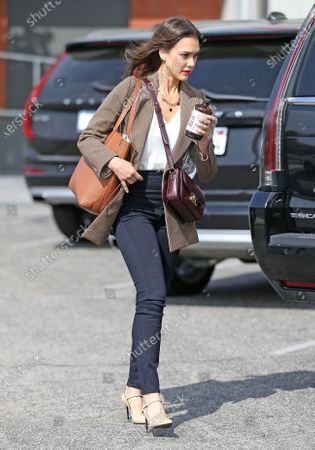 Editorial picture of Jessica Alba out and about, Los Angeles, USA - 06 Mar 2020