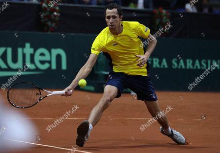 Editorial image of Argentina Tennis Davis Cup, Bogota, Colombia - 06 Mar 2020