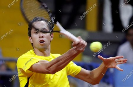 Editorial photo of Davis Cup: Colombia vs Argentina, Bogota - 06 Mar 2020