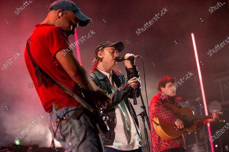 Stock Photo of DMA's - Matt Mason, Tommy O'Dell and Johnny Took