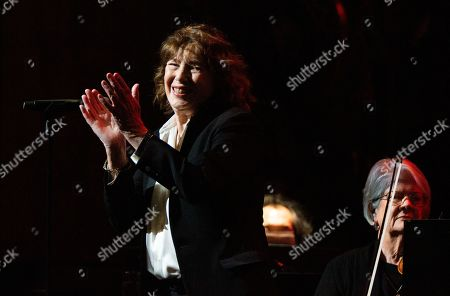 Editorial image of Birkin Gainsbourg The Symphonic Starring Jane Birkin in concert at Beacon Theater, New York, USA - 06 Mar 2020