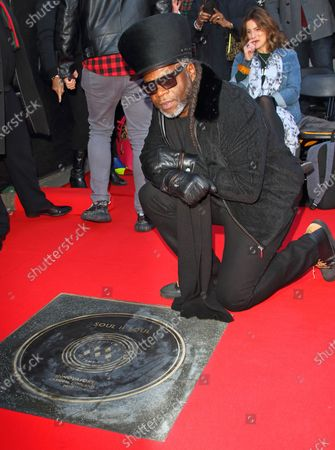 Editorial photo of Unveiling of Soul II Soul Stone on Camden Music Walk of Fame, London, UK - 06 Mar 2020