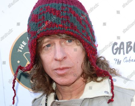 Stock Photo of Simon Bartholomew of the Brand New Heavies attends the Music Walk Of Fame Soul II Soul stone unveiling, the fourth stone to be placed on Camden High Street.