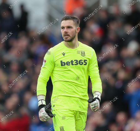 Jack Butland of Stoke City.