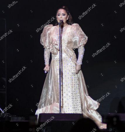 Editorial image of Isabel Pantoja in concert, Madrid, Spain - 06 Mar 2020