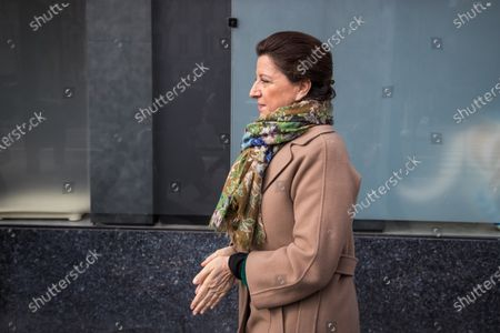Former French Health Minister and mayoral candidate for Paris Agnes Buzyn arrives to visit a veterinary clinic in Paris, France, 07 March 2020. Buzyn took the candidacy for the 'La Republique En Marche' (LREM) party, replacing former candidat Benjamin Griveaux who dropped his candidacy in the Paris municipal elections on 14 February over publication of sexual imagery allegedly related to him on social media.
