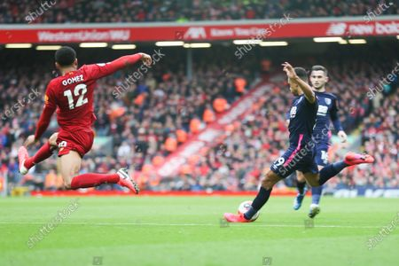 Editorial picture of Liverpool v AFC Bournemouth, Premier League, Football, Anfield, UK, 7.3.2020